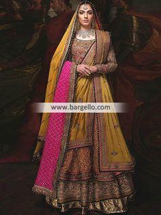- Luxurious Bridal Lehenga Pakistani Bridal Lehenga - For order & Inquiry: New York U.A: 0585 638 3223 London U.K: 0208 Manchester U.K: Perth Australia: Bridal Rapids Illinois US… and