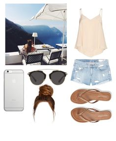 Breakfast with my sister in law☀️🌴 by emma-horan-73 on Polyvore featuring polyvore, fashion, style, Alice + Olivia, rag & bone/JEAN, Aéropostale, Native Union, Christian Dior and clothing