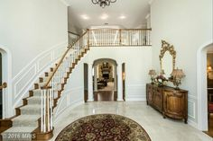 Lovely home entrance at 2506 Chestnut Woods Ct, Reisterstown, MD 21136.