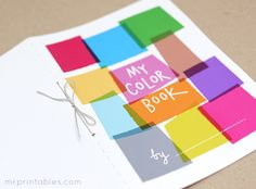 Learn Colors with My Color Book - Mr Printables