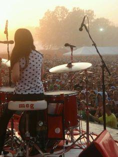Meg White - The White Stripes.