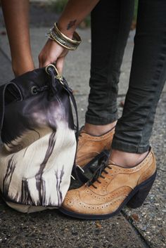 1b645eb413d I need these Free People Jeffrey Campbell Gold Coast Wingtips.