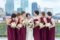 Fall Berry Hue Wedding Day