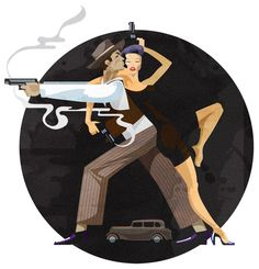 Bonnie and Clyde –tango of death