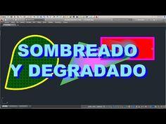 AUTOCAD LT 2015 - SOMBREADO Y DEGRADADO: TEXTURA Y COLOR EN TUS PROYECTOS !!