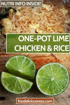 Lets try and cook a simple and easy-to-make dish that doesn't just tastes deliciously, but also looks extravagantly. This cilantro lime chicken and rice. Side Dishes For Chicken, Easy Chicken Dinner Recipes, Curry Recipes, Rice Recipes, Healthy Recipes, Noodle Recipes, Healthy Food, Spinach Artichoke Pizza, Slow Cooker Chicken Curry