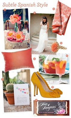 Now I want to renew our vows just so I can do this! ---> Fabulous Finds: Spanish Wedding Ideas