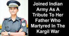 Meet Lalitha Kanwar Joined Indian Army As A Tribute To Her Martyred Father    Kargil war heros daughter Lalitha Kanwars eyes would be eagerly searching for her grandmother during the September 10 Passing out Parade of the Officers Training Academy as she will be fulfilling her mothers dream of returning her son back to her. Dressed in olive green Lalitha the daughter of Naik Rajvir Dan of the 15 Grenadiers who lost his life on June 21 2000 during Operation Rakshak in Kargil told Express that…