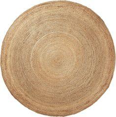 Vloerkleed Dip - naturel - 200x200x2cm - La Forma