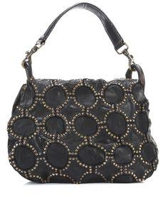 Lavata Alveare Satchel Leather black 34 cm