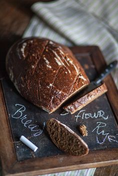 Molasses Fennel Rye Bread