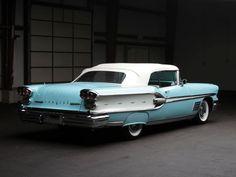1958 Pontiac Parisienne Convertible luxury retro r
