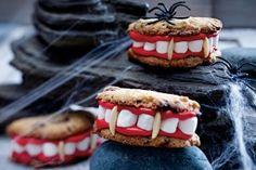 Draculas Cookies mit Biss