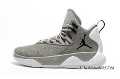 save off 78d59 c9645 Nike Jordan Super.Fly MVP Cement Grey White-Black Mens Basketball Shoes Top  Deals