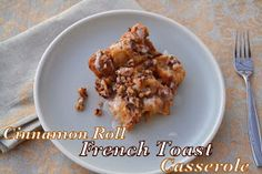 Cookin' Cowgirl: Cinnamon Roll French Toast Casserole