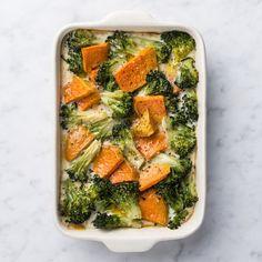 🍴Zapečená brokolice recept – rychle, zdravě a jednoduše 🍴 Jimezdrave.cz Palak Paneer, Green Beans, Vegetables, Ethnic Recipes, Fit, Instagram, New Recipes, Souffle Dish, Oven