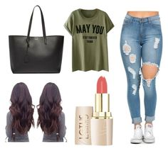 """"""""""" by mxvdx on Polyvore featuring mode en Yves Saint Laurent"""