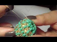 DIY Tutorial Agape Bead (beaded bead) + Auguri di Natale con la mia brutta faccia :p