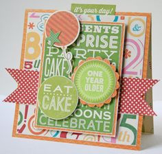Hampton Art Blog: Jillibean Soup Birthday Bisque cards by designer Gretchen McElveen--eat cake