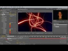 ▶ After Effects Tutorial: Intro with Trapcode 3D Stroke (english) - YouTube