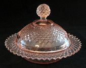 Collection of beautiful pieces of pink depression glass....&#3212