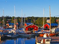 The autonomous Finnish province of Åland is located in the Baltic Sea between mainland Finland and Sweden. Finnish Sauna, Moldova, Andorra, Baltic Sea, Open Water, Archipelago, Countries Of The World, Helsinki, Where To Go