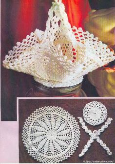 Use imgbox to upload, host and share all your images. Crochet Bowl, Crochet Basket Pattern, Crochet Diagram, Thread Crochet, Filet Crochet, Crochet Motif, Crochet Doilies, Crochet Flowers, Knitting Patterns