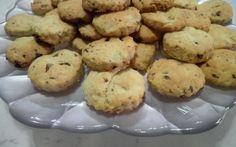 Biscotti al limoncello mandorle e noci con cioccolato #foodcucinafoodblogwebpassionelover