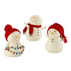 Snow Pinions Snowman Figures Department56