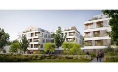 Ameller, Dubois et Associés - The projects - Herbaly - Two residential buildings