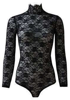 d76e96f5776 Casual (lace) Black Lace Bodysuit