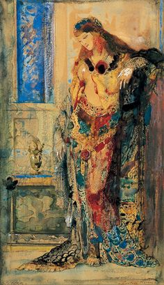 Gypsy Living Traveling In Style| Serafini Amelia| Painter: Gustave Moreau  Title: La Toilette  Date: 1885 - 1890