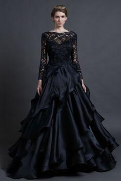 Hochzeitskleid Gothic
