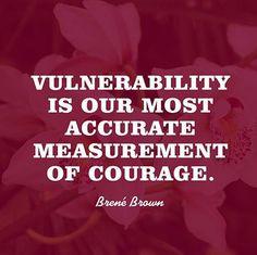 De moedigste tonen hun kwetsbaarheid