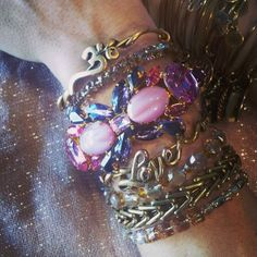 #charmedarms featuring one of our vintage cuffs!