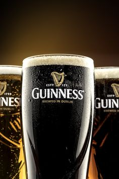 Commercial Guinness Glass Photography