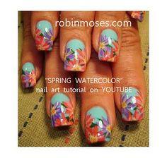 monet inspired floral impressionism nail art flowers   http://www.youtube.com/watch?v=OGAsP0U7hmU