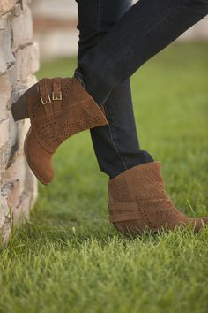 These Naughty Monkey #boots are the perfect combination of #country and  #chic.