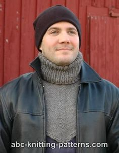 ABC Knitting Patterns - Biker's Cowl / Dickie Snood Knitting Pattern, Knitting Patterns Free, Knit Patterns, Free Knitting, Baby Knitting, Free Pattern, Crochet Neck Warmer, Knit Cowl, Knitting Projects