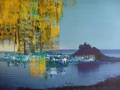 """Saatchi Art Artist Uwe Schmitz; Painting, """"Castle"""" #art"""