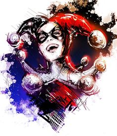 Laughing is the best medicine- Harley Quinn