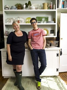 Queer, Fat, Femme- Rachel Maddow & her partner Susan Mikula. 