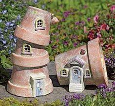Flower+Pot+Fairy+Houses