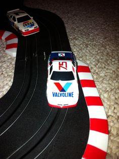 TYCO Valvoline Pontiac 75 Neil Bonnet  Nascar HO Slot Car AFX Lifelike