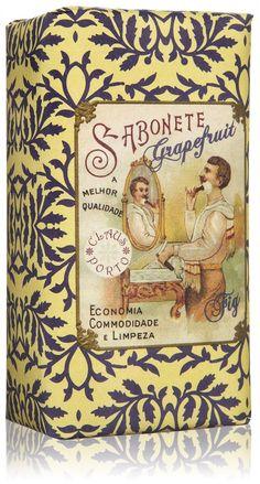 Claus Porto Classico & Fantasia Grapefruit Fig Hand Soap