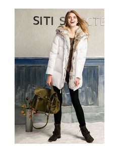 2015 women down warm long gift coat jacket parka zipper fashion new winter outerwear rabbit fur collar new plus size thick