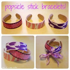 Got an abundance of popsicle sticks at home? From bunnies to bracelets, here are 10 of the cutest popsicle stick crafts for kids to make. Popsicle Stick Crafts, Popsicle Sticks, Craft Stick Crafts, Fun Crafts, Arts And Crafts, Craft Sticks, Craft Ideas, Popsicle Stick Bracelets, Girl Scout Crafts