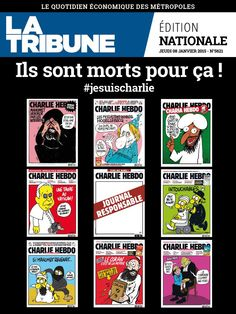 La Tribune - Edition Quotidienne du 08-01-2015.......   ILS SONT MORTS POUR CA ! ! ! !