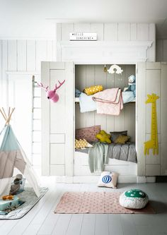 Unique Fantastic bunk bed Kids furniture Kids room Design and Decor