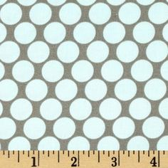 Amy Butler Lotus Full Moon Polka Dot Slate - Discount Designer Fabric - Fabric.com